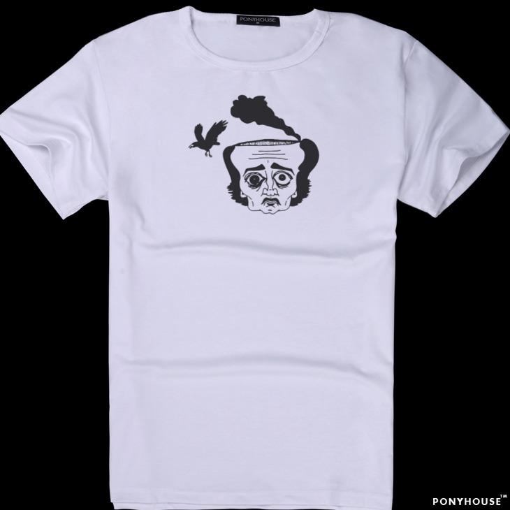 Гаджет  2015K send a good gay friend a birthday gift for foreigners shirt Allan Poe POE male short sleeved T-shirt None Изготовление под заказ