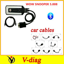 DHL Bluetooth 2016 wow snooper V5.008 R2 free active tcs cdp pro 8 pcs/set cables cable car - The best price and service store