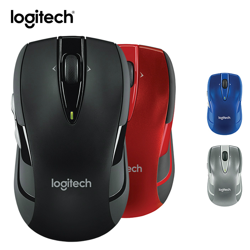 Logitech M545 Wireless Mouse 2.4G Wireless Gaming Mice Biaxial Roller Optical Tracking Technology Lap Top PC Mouse(China (Mainland))