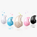 Mini Wireless Bluetooth Earphone V4 0 Stealth Stereo Music Sport Headphones Phone Headset With Mic Handfree