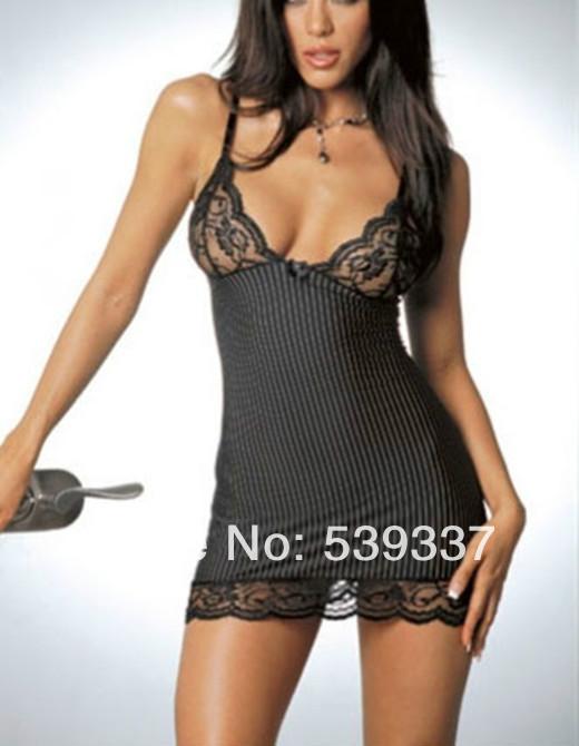 Sexy Womens Babydoll Nightdress Lingere G-string Underwear Lace Sleepwear
