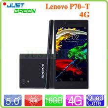 Телефон, lenovo P70T P70-T 4 G Android 4.4 сотовый MTK6732 четырёхъядерный 2 гб Ram 16 гб Rom 5 дюймов 720 P IPS 13MP камера двойной SIM GPS(China (Mainland))