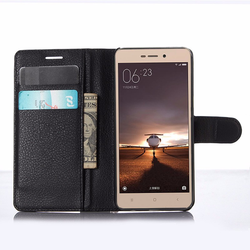 For Xiaomi Redmi 3 Pro Case 5.0 Wallet PU Leather Back Cover Case For Xiaomi Redmi 3 Redmi3 Pro Case Flip Protective Phone Bag (3)