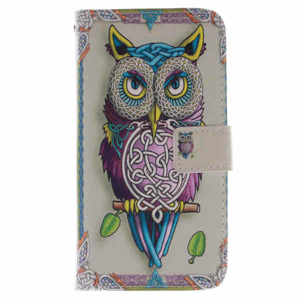 2015For Samsung Galaxy Grand Prime G530H G5308 back cover New Arrival Pattern Hard Case Cover bags card slot stand holder tiger(China (Mainland))