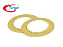 10Pcs/Lot F04624 Electronic Components accessories 27mm Piezoelectric Ceramic pieces Copper Buzzer Film Gasket