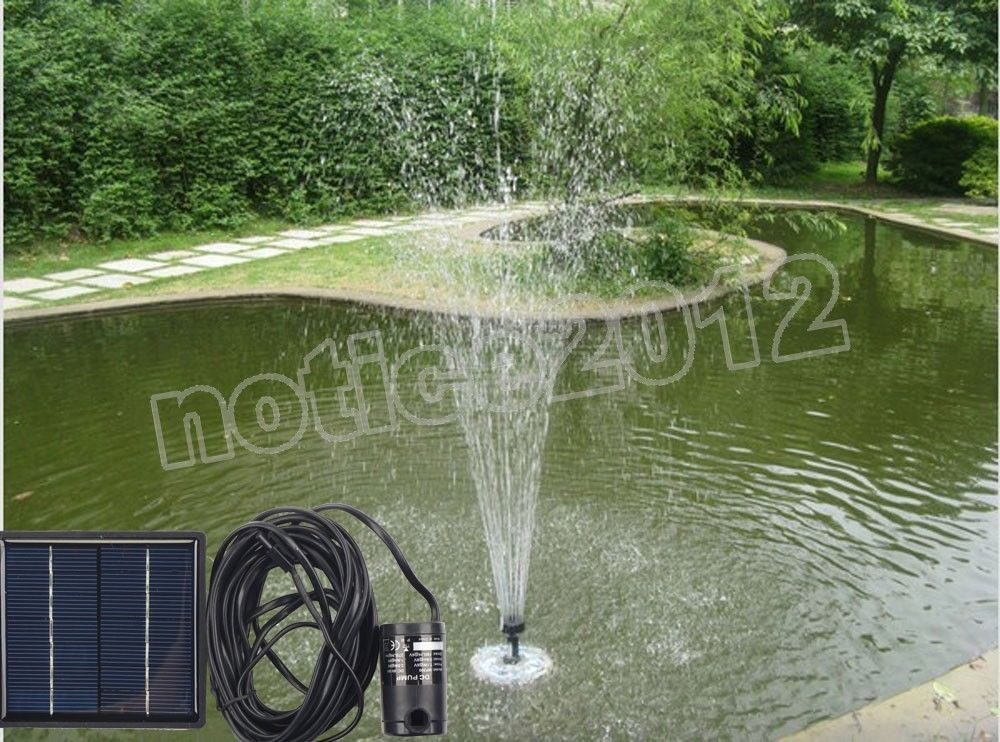 Pool Water Pump Garden Plants Watering Kit Solar Power Fountain Solar Pump/Water Pump(China (Mainland))