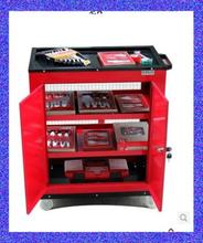 A value of old red crown mesh grid tool trolley tool cart tool cabinet LA111808