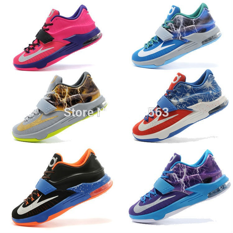 op quality cheap 2015 kevin 7 VII Basketball Shoes china brand durantes kd7 man KD sport shoes size 7-12(China (Mainland))