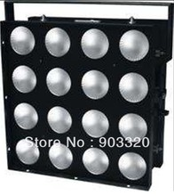 HOT 55*55*25CM 16pcs*30W 3in1 RGB Full Color LED Matrix Light With Built in Program And Strobe Effects(China (Mainland))