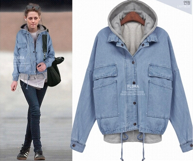 Denim Jacket Hoodie Photo Album - Reikian