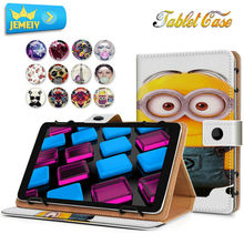 Buy 7'' Flora Minions Girl Printed tablet case Universal Leather Tablet Case Foxcinn Infocus New tab B1/ MSI PRIMO 73 Cover for $7.92 in AliExpress store