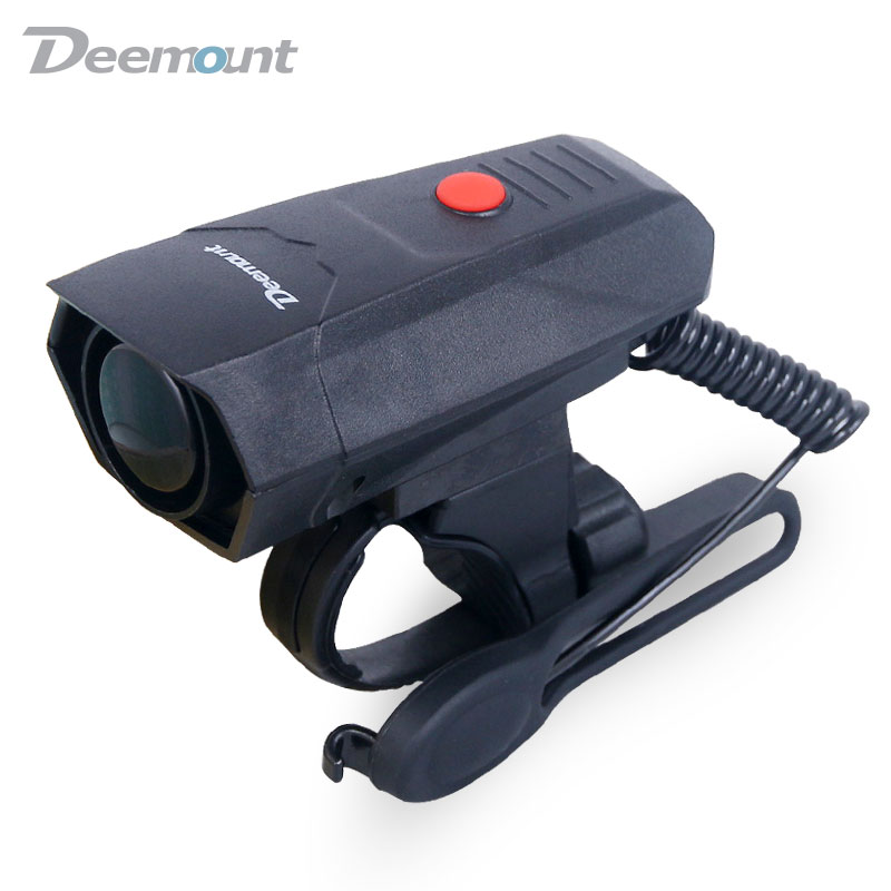 Deemount Electric Loud MTB Bicycle Air Horn Ring Road Bike Handlebar Bell Siren Cycling Air Alarm Alert 120db Noise 5 Sounds(China (Mainland))