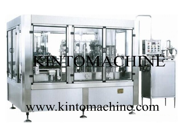Three in one filling machine10000-12000BPH bottle washing filling capping widely used filling machine(China (Mainland))