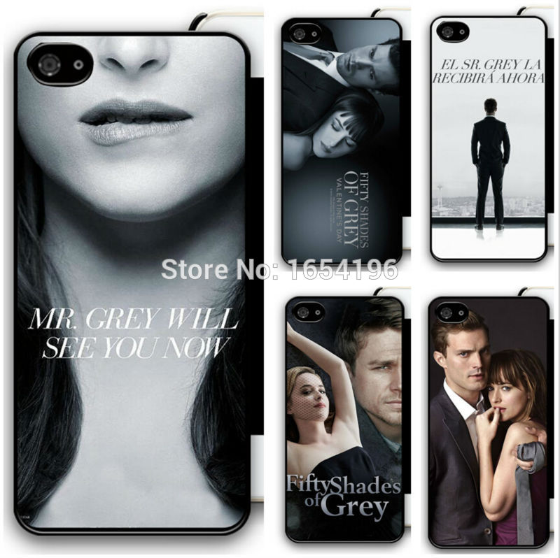2015 Brand Cool Fifty Shades of Grey Case For iPod 5 For iPhone 5S 6 Plus Covers For Samsung Galaxy S4 S5 Mini S6 Edge For LG G3(China (Mainland))