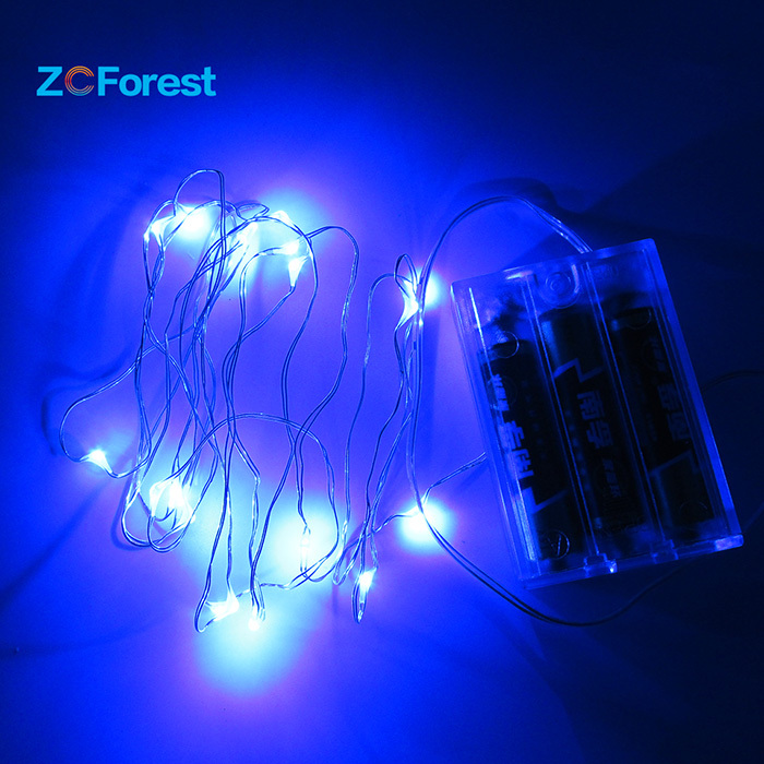 Led Fairy Lights Battery Operated 2m String Lights 20led Christmas Lights Out