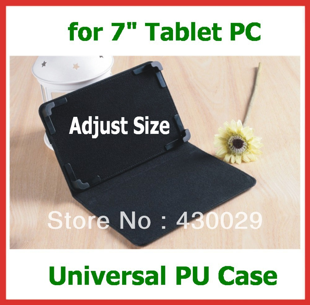"10pcs Adjustable Velcro Magnetic 7 inch Tablet Case Universal for 7"" Tablet Ainol Novo 7 Cube Mini U30GT Pipo S1 Google Nexus 7(China (Mainland))"