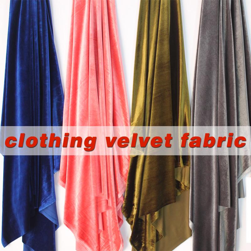 Achetez en gros tissu velours tricot en ligne des for Velours de soie ameublement