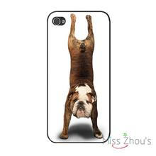 Cute Animal Pattern Funny Dog back skins mobile cellphone cases for iphone 4/4s 5/5s 5c SE 6/6s plus ipod touch 4/5/6