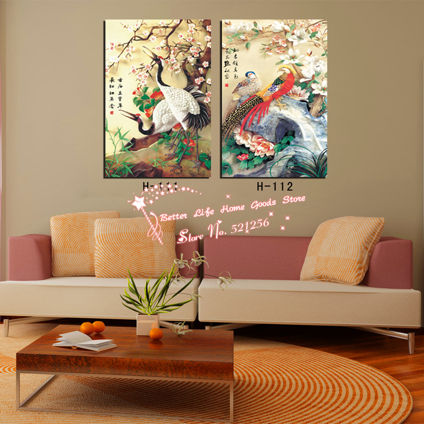 Modern wall art home decoration printed oil painting for Home decoration pieces