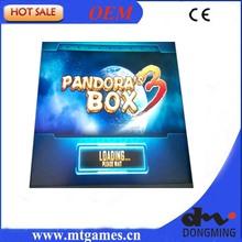 Black Case Pandora Box 3 520 in 1  Jamma Arcade Game cartridge /jamma Multi game board support CRT and LCD(China (Mainland))