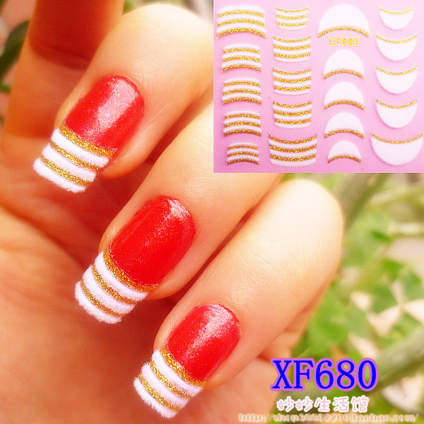 Noble elegant velvet nail art applique velvet nail polish oil applique