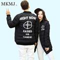 1 PC MKMJ Warm Outdoor Winter Baseball Long Jacket Men Women Windproof Fashion Sport Men Jacket
