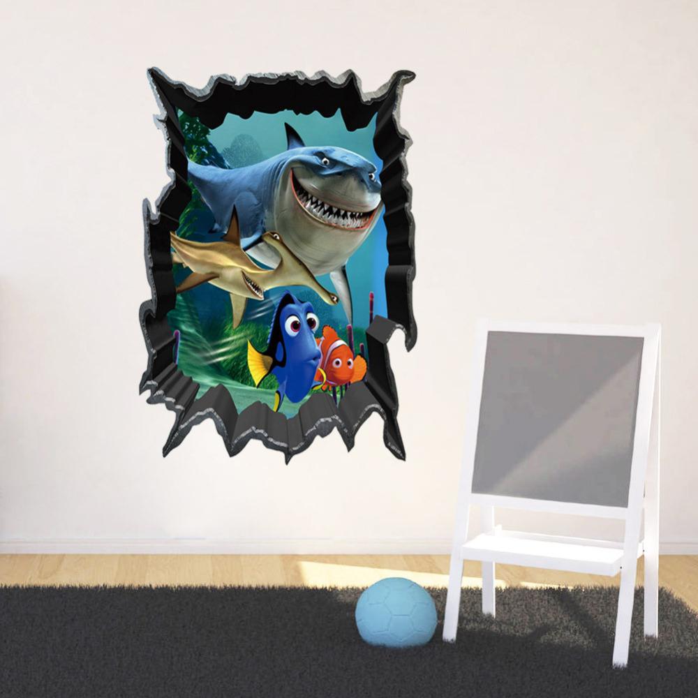 Nemo autocollants promotion achetez des nemo autocollants for Collant mural francais
