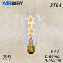 KARWEN скандинавские современные подвесные светильники стеклянная лампа Лофт промышленный подвесной светильник E27 Edison кухонный домашний дек...(China)