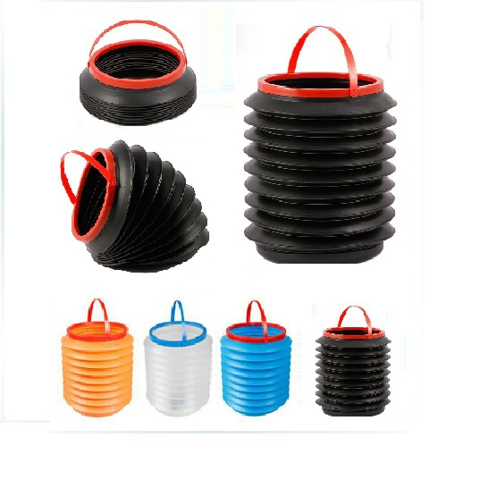 Hot mini Multi-function Retractable Car Garbage Bucket Garbage Container Car Storage(China (Mainland))