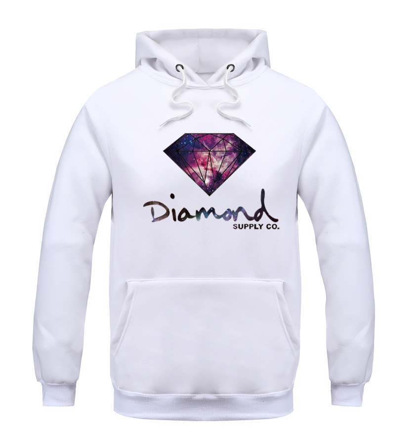Diamond supply co men hoodie women street brand fleece warm sweatshirt winter autumn fashion hip hop primitive pullover(China (Mainland))