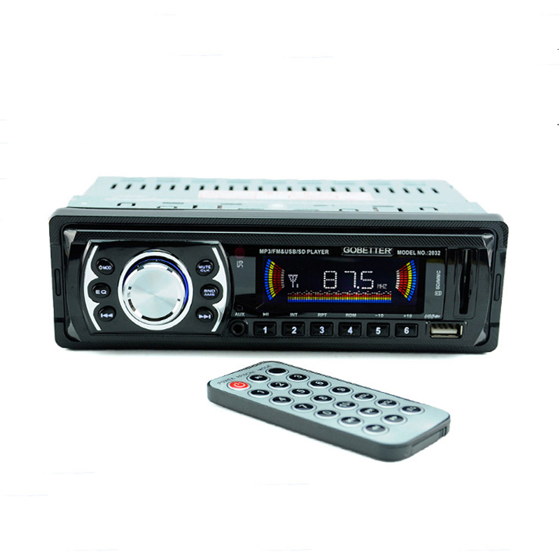 12V Latest Car Sound Stereo In-Dash MP3 Radio Player USB/SD Input FM Receiver Auto Audio ZQC15 - Mike Deal Store store
