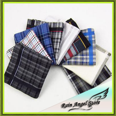 Men's Business Suit Pocket Handkerchief Cotton Handkerchiefs Married(China (Mainland))