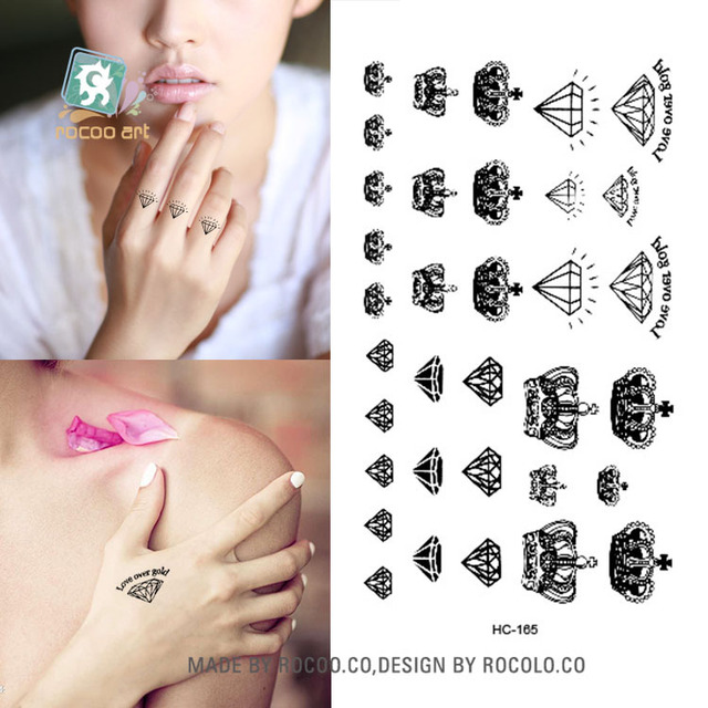HK-165 taty new design Flash tattoos removable waterproof gold temporary body art tattoo tattoo metal temporary tattoos#HK-5