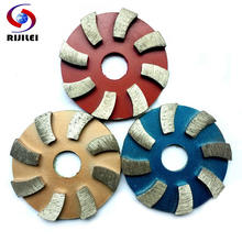 (3JKP) 3pieces/lot 3inch Metal grinding pads 80mm diamond polishing pads Metal dry concrete polishing pad polishing granite(China (Mainland))