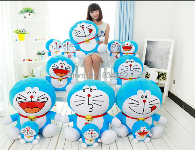 J.G Chen High Quality Low Price Plush Toys Large Size 70cm Doraemon Big Embrace Cat Doll Lovers Brinquedos Kids Adults Juguetes(China (Mainland))