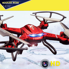 DFD F181 4CH 2.4GHz RC Radio Remote Control Quadcopter Gyro RTF Drone 5MP HD Camera Aircraft 300 meter Distant Control
