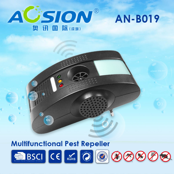 Home pest control reject Electromagnetic waves+Anion+Ultrasonic with night light mosquito mouse rats rodent siper repeller(China (Mainland))