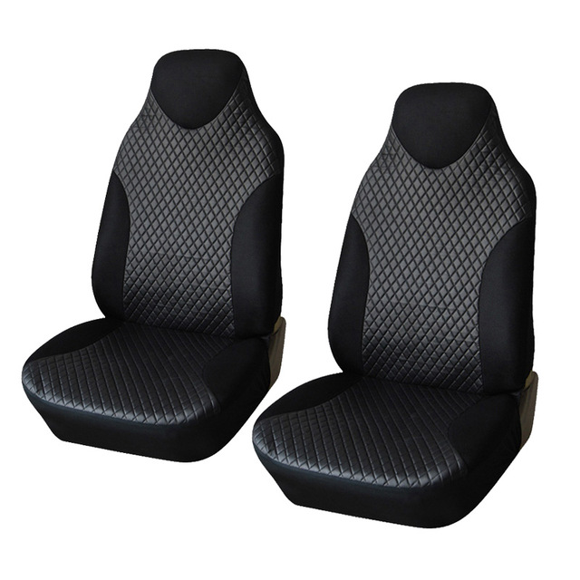 Black Sports Seat Covers PVC Fabric Car Seat Cover Universal Fit Most Car Covers Auto Interior Accessories Car Seat Protector(China (Mainland))