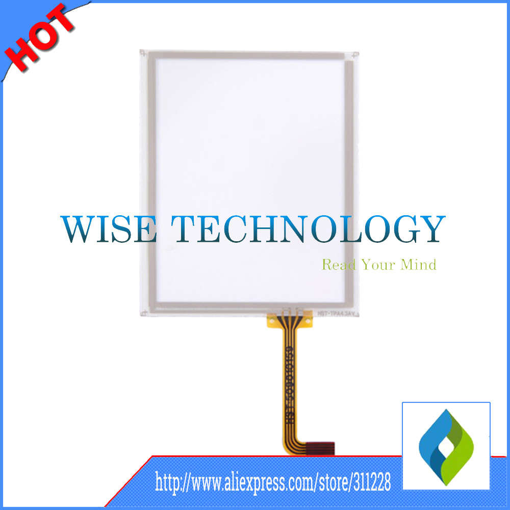 10pcs/lot Intermec 750A touch panel touch screen digitizer glass for data collector, data collector touch screen(China (Mainland))