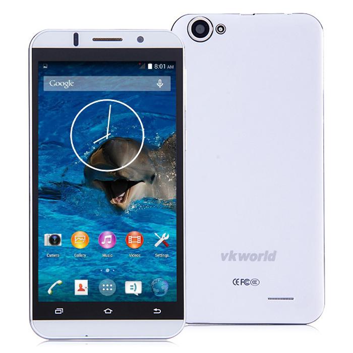 "New Original Vkworld Vk700 3G Android 4.4 Mobile phone 5.5"" HD MTK6582 Quad Core Daul Sim 3200 mAh 1GB RAM 8GB ROM 13MP Camera(China (Mainland))"