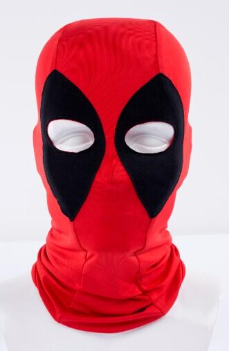 2016 Marvel Deadpool Masks Superhero Cap Balaclava Halloween Costume X-men Hats Headgear Arrow Party Neck Hood Full Face Mask(China (Mainland))