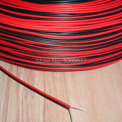 30 meters Electrical Wire Tinned Copper 2 Pin AWG 22 insulated PVC Extension LED Strip Cable