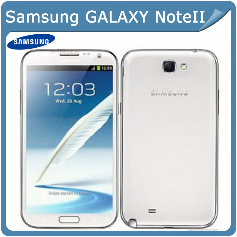 Мобильный телефон 5.5' N7100 Note2 Samsung II N7100 8MP GPS Android 4.1 noteII WIFI мобильный телефон samsung note 2 wifi tv 5 5