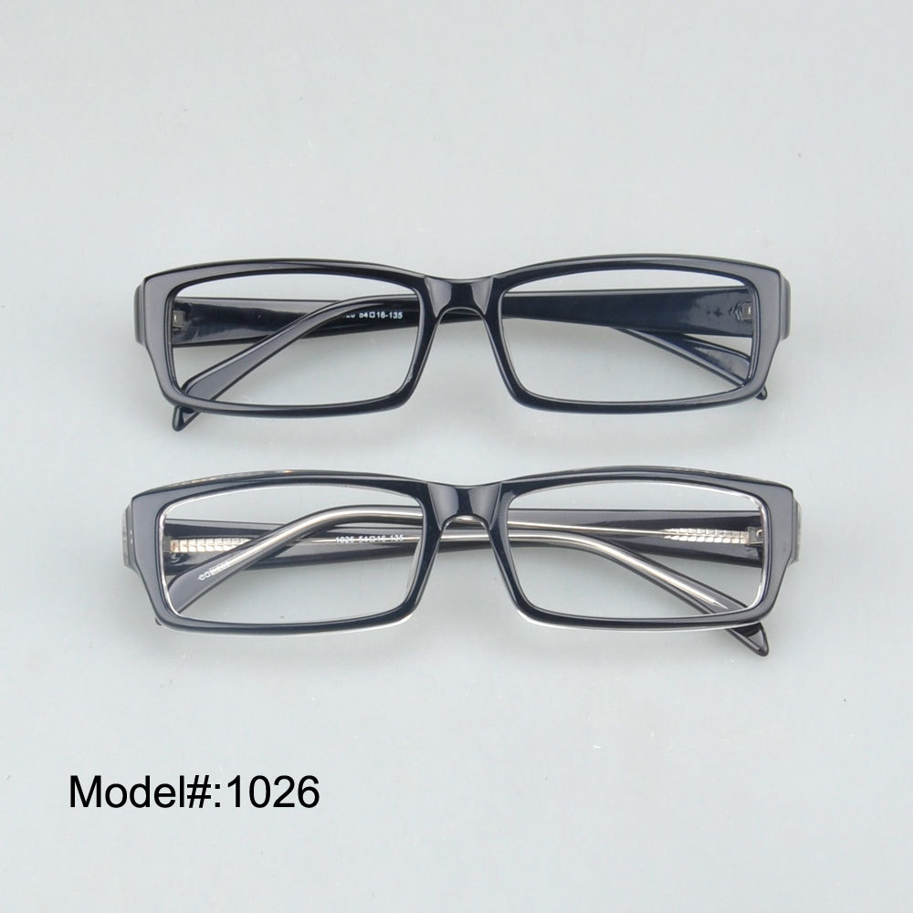 Free shipping 1026 acetate optical glasses colorful choice keep in stock(China (Mainland))