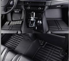 C2 Floor Mats Auto Foot Mat Step Mats For Citroen C2 2006-2009.2010.2011.2012.2013.High Quality Solid Color Car Interior Mats