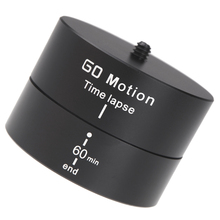 Andoer 360 Degrees Panning Rotating Time Lapse Stabilizer Tripod Adapter for Gopro DSLR high quality photography accessories(China (Mainland))