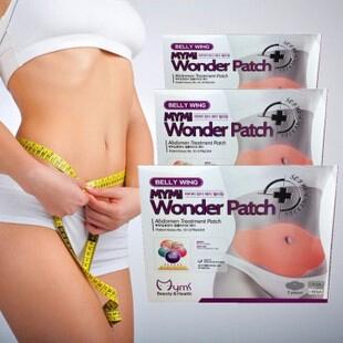 5 шт. корейский пресс крыло Mymi чудо заплатка живот лечение снизить вес сжигания жира для похудения тело желудка Patchs маска 5 шт.
