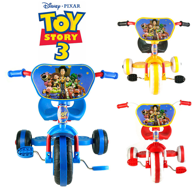 TOY STORY BIKE TRIKE TRICYCLE KID CHILD TODDLER 3 WHEEL CAR RIDE ON TOY(China (Mainland))