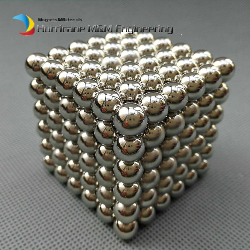 432 pcs NdFeB Magnet Balls 8 mm diameter cube Strong Neodymium Sphere Permanent Magnets Rare Earth Magnets N42 NiCuNi Plated(China (Mainland))