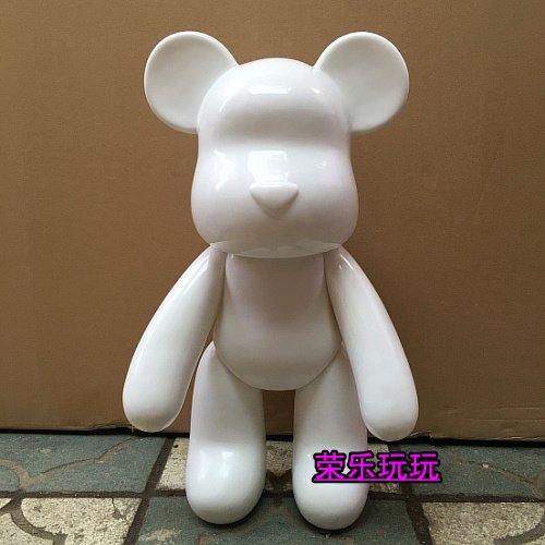 22inch 1000% Cute Bearbrick Red and White In Stock Medicom Toy Be@rbrick DIY Gift For Collector Friends(China (Mainland))
